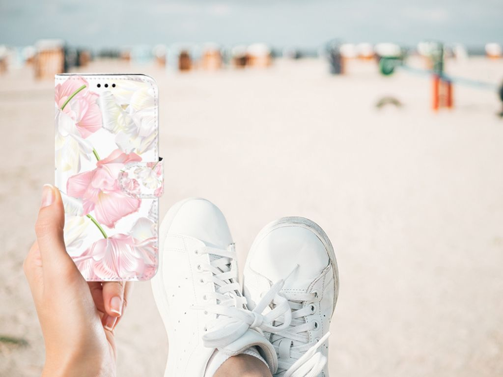 Samsung Galaxy J5 2017 Boekhoesje Design Lovely Flowers