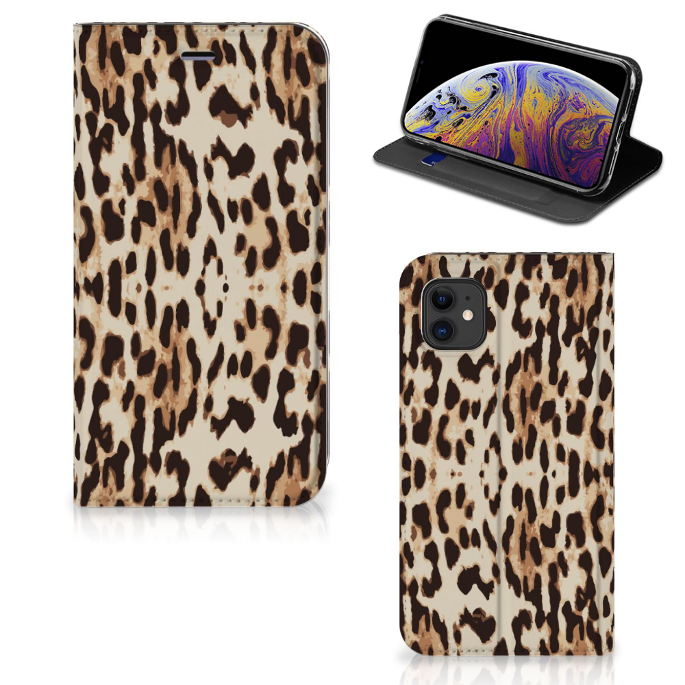 Apple iPhone 11 Hoesje maken Leopard