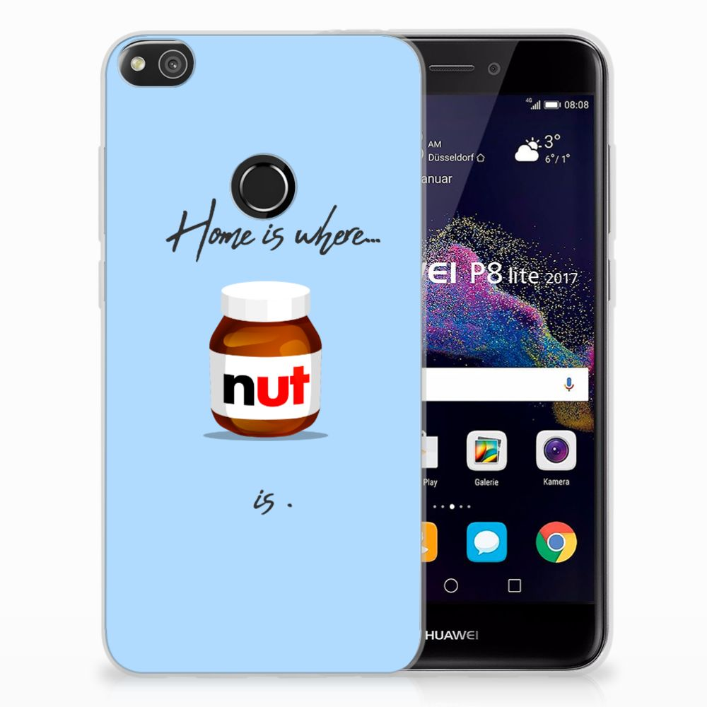 Huawei P8 Lite 2017 Siliconen Case Nut Home