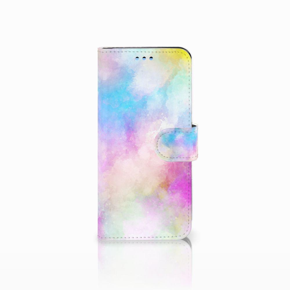 Samsung Galaxy S9 Uniek Boekhoesje Watercolor Light