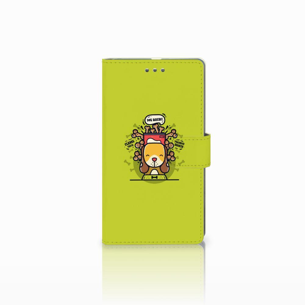Microsoft Lumia 950 XL Boekhoesje Design Doggy Biscuit