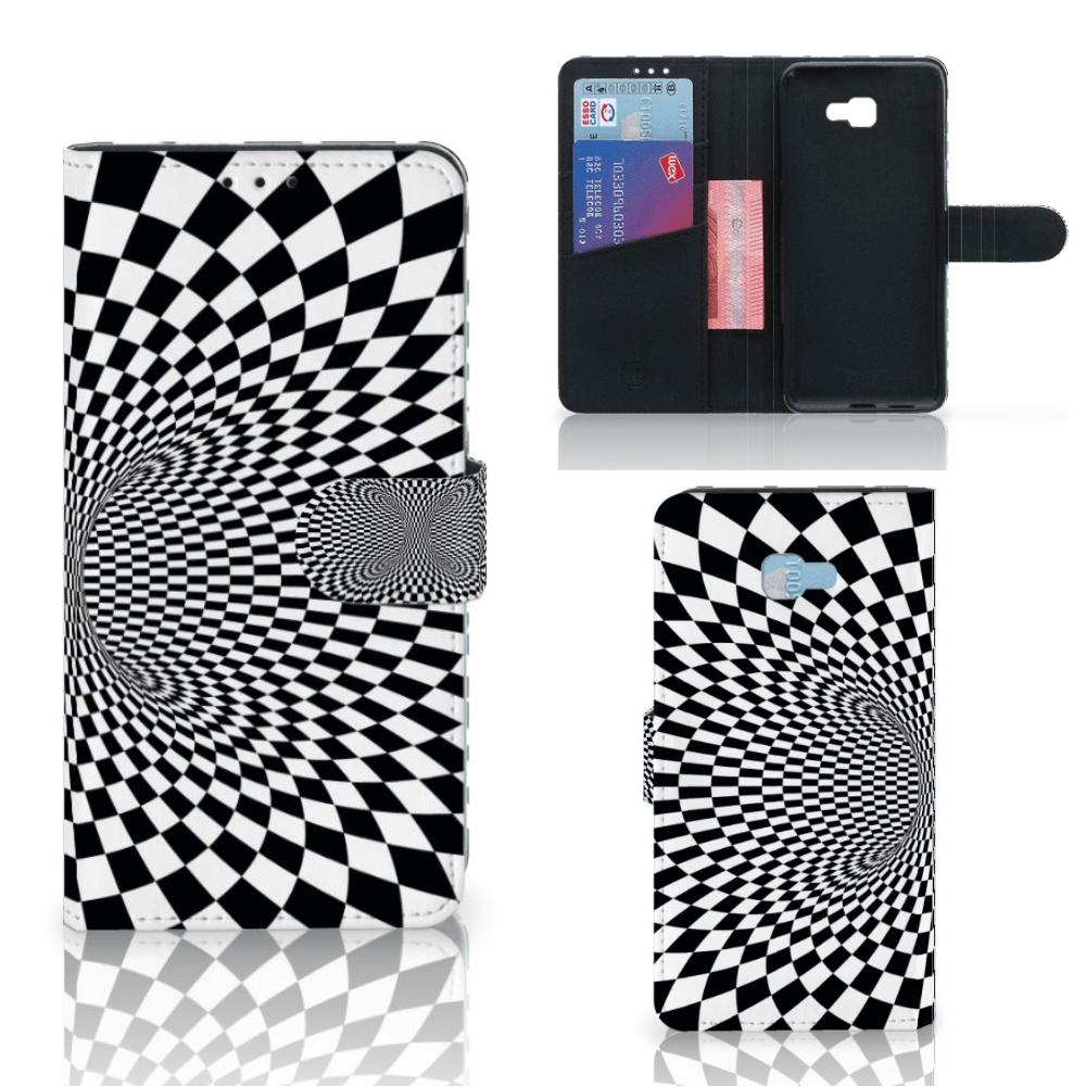 Samsung Galaxy J4 Plus (2018) Bookcase Illusie