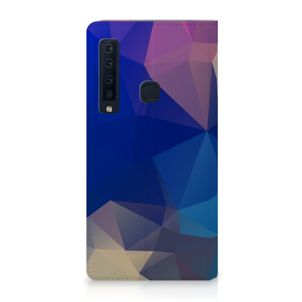 Samsung Galaxy A9 (2018) Stand Case Polygon Dark