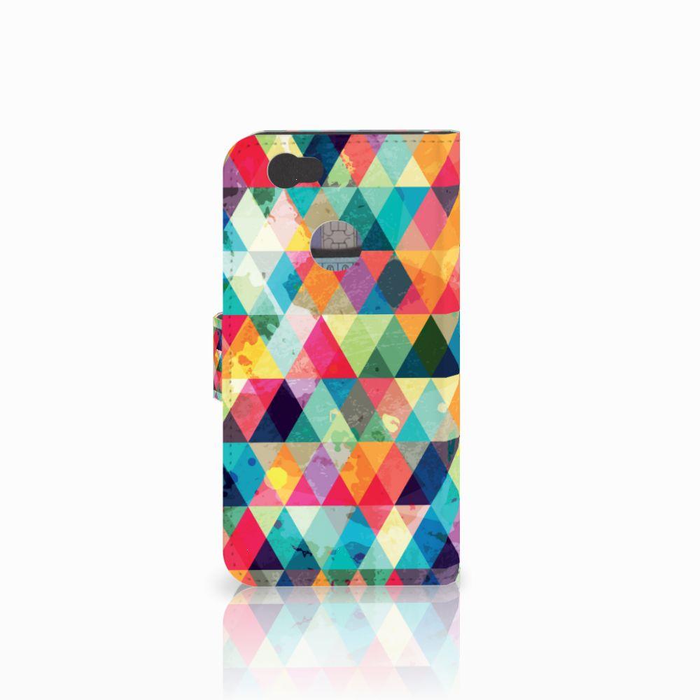 Huawei Nova Telefoon Hoesje Geruit