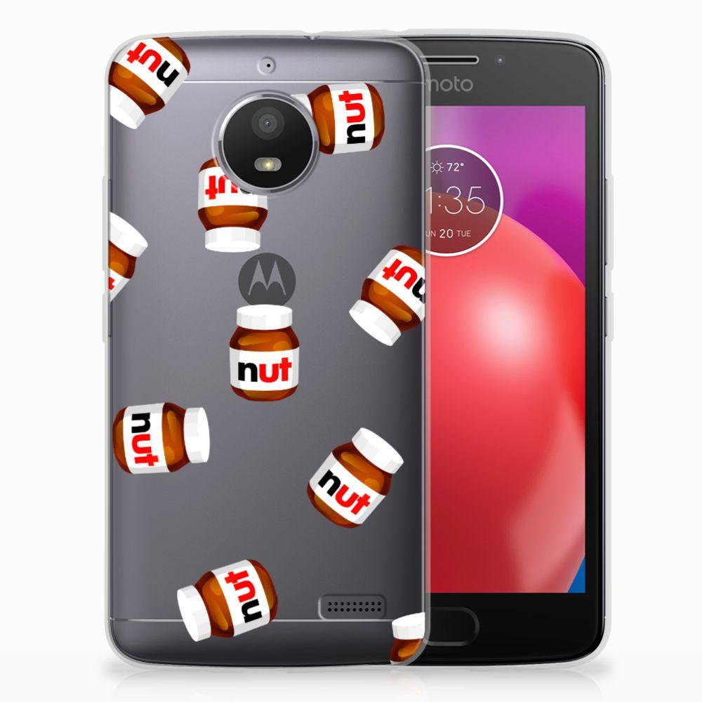 Motorola Moto E4 Siliconen Case Nut Jar