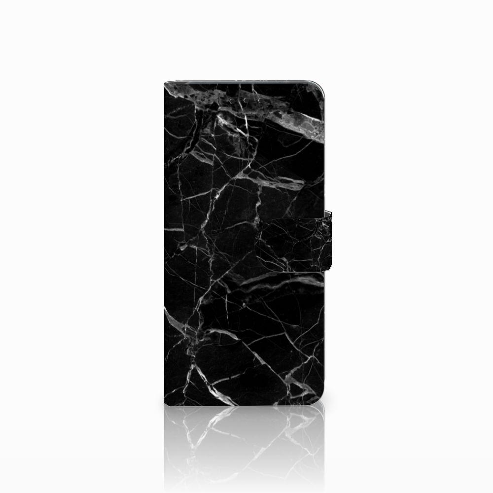 Huawei Mate 20 Pro Uniek Boekhoesje Marmer Zwart