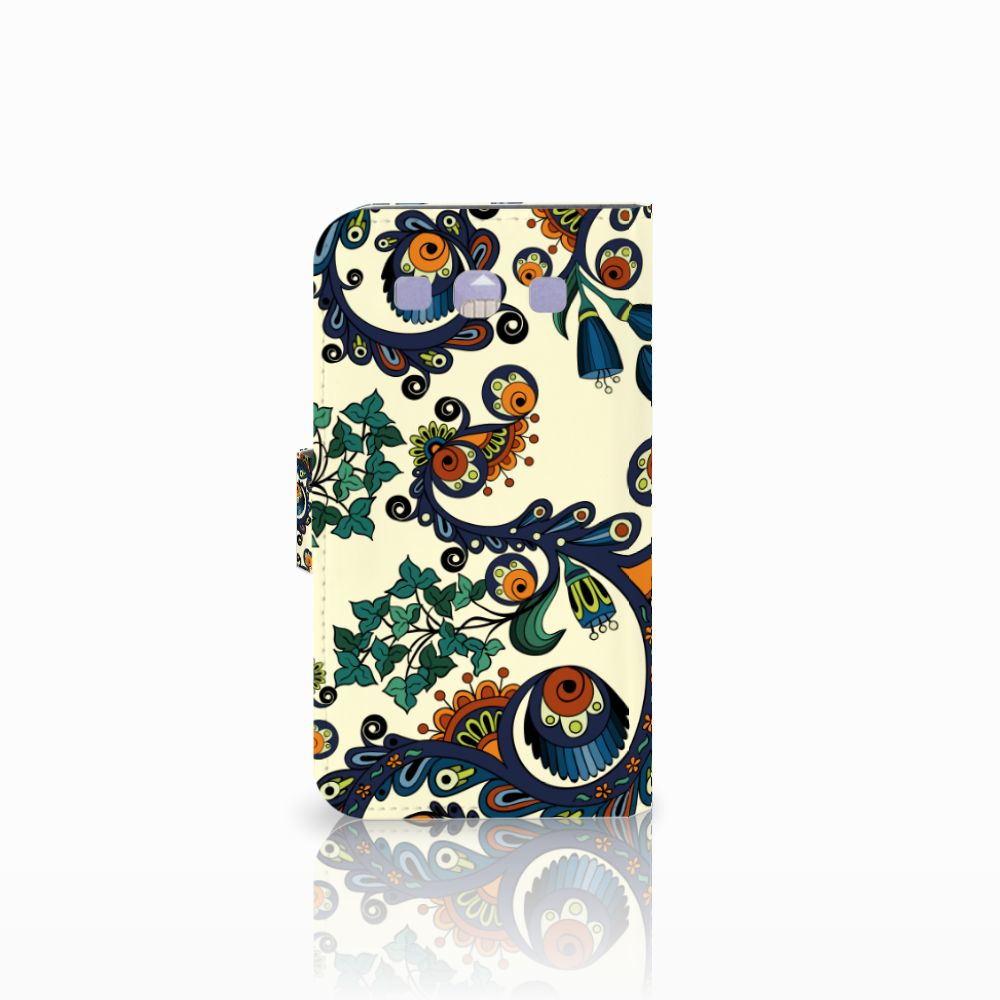 Wallet Case Samsung Galaxy S3 i9300 Barok Flower