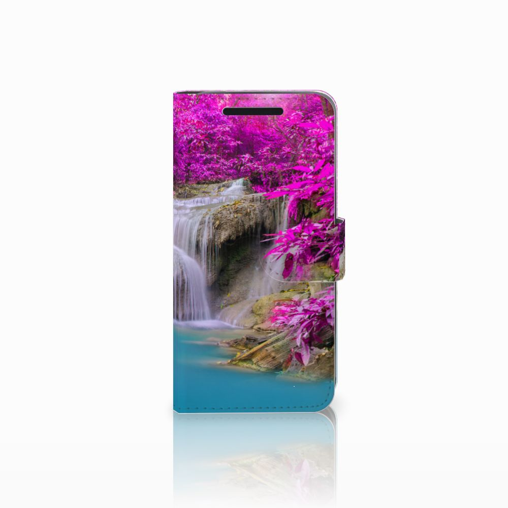 HTC One M9 Uniek Boekhoesje Waterval