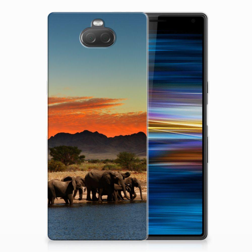 Sony Xperia 10 Leuk Hoesje Olifanten