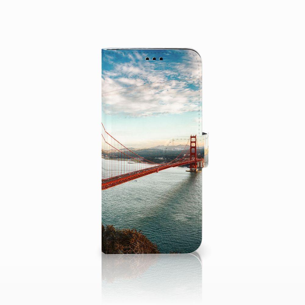 Samsung Galaxy S9 Plus Boekhoesje Design Golden Gate Bridge