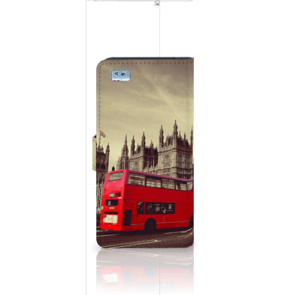 Huawei Ascend P8 Lite Flip Cover Londen