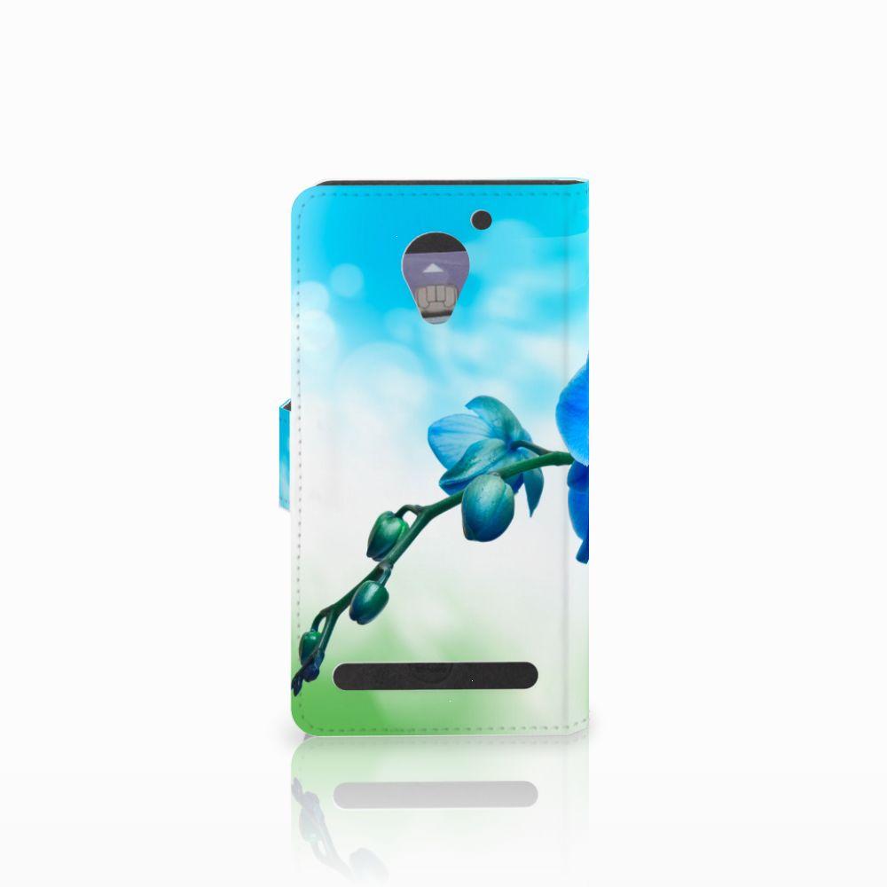 Lenovo C2 Power Hoesje Orchidee Blauw