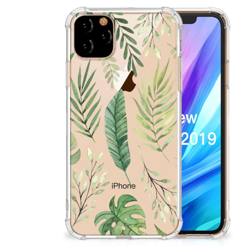 Apple iPhone 11 Pro Max Case Leaves