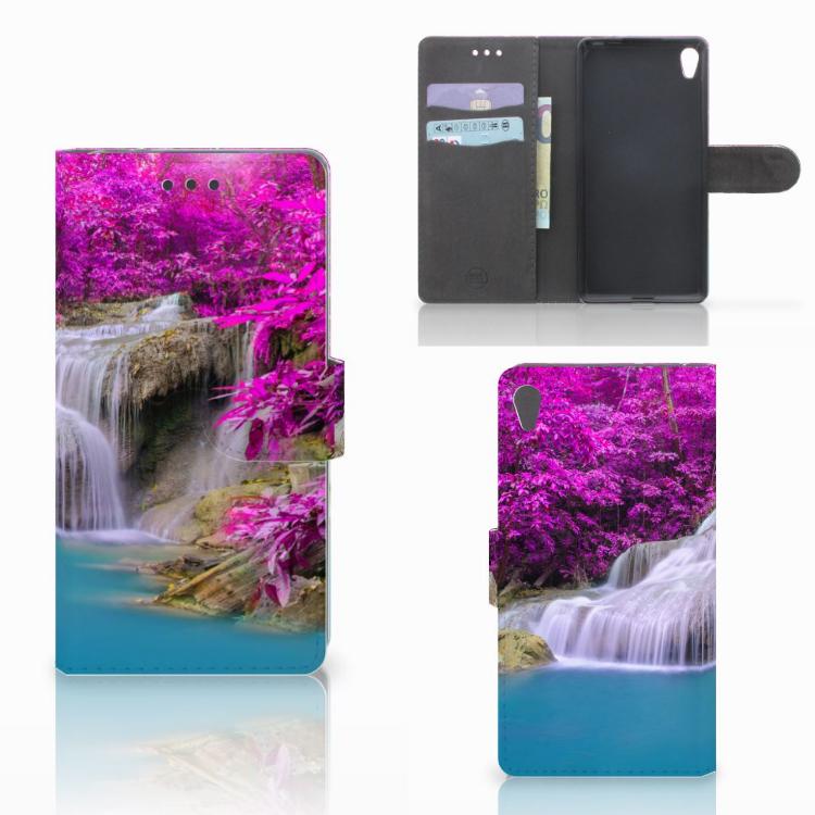 Sony Xperia E5 Flip Cover Waterval