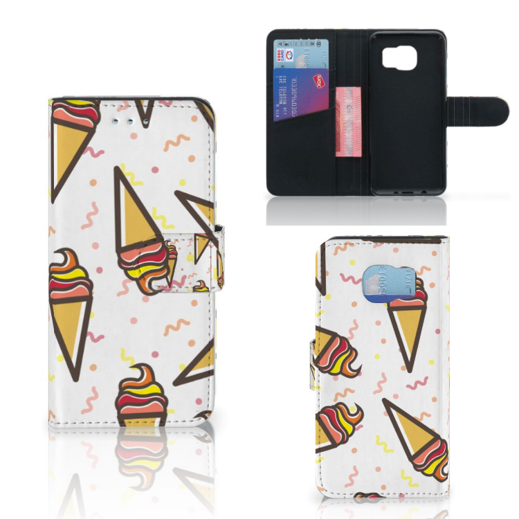 Samsung Galaxy S6 | S6 Duos Book Cover Icecream