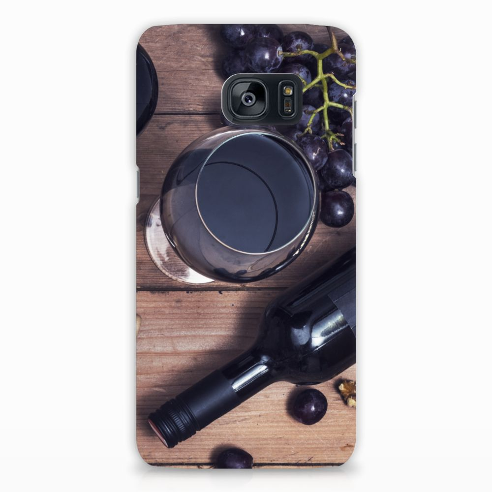 Samsung Galaxy S7 Edge Hardcover Wijn