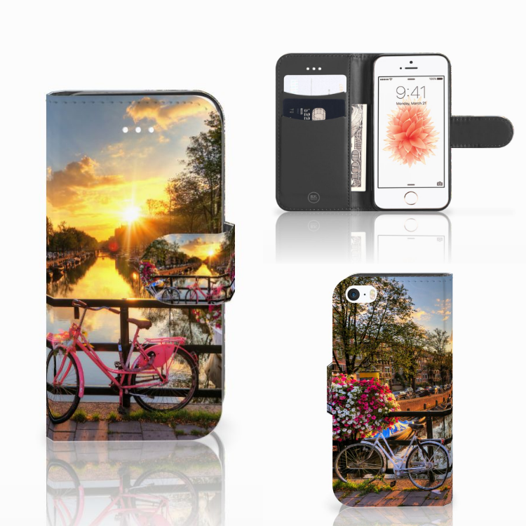 Apple iPhone 5 | 5s | SE Flip Cover Amsterdamse Grachten
