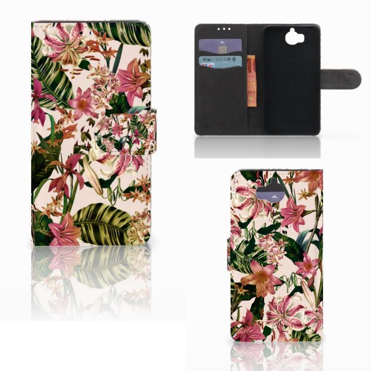 Huawei Y5 | Y6 2017 Hoesje Flowers