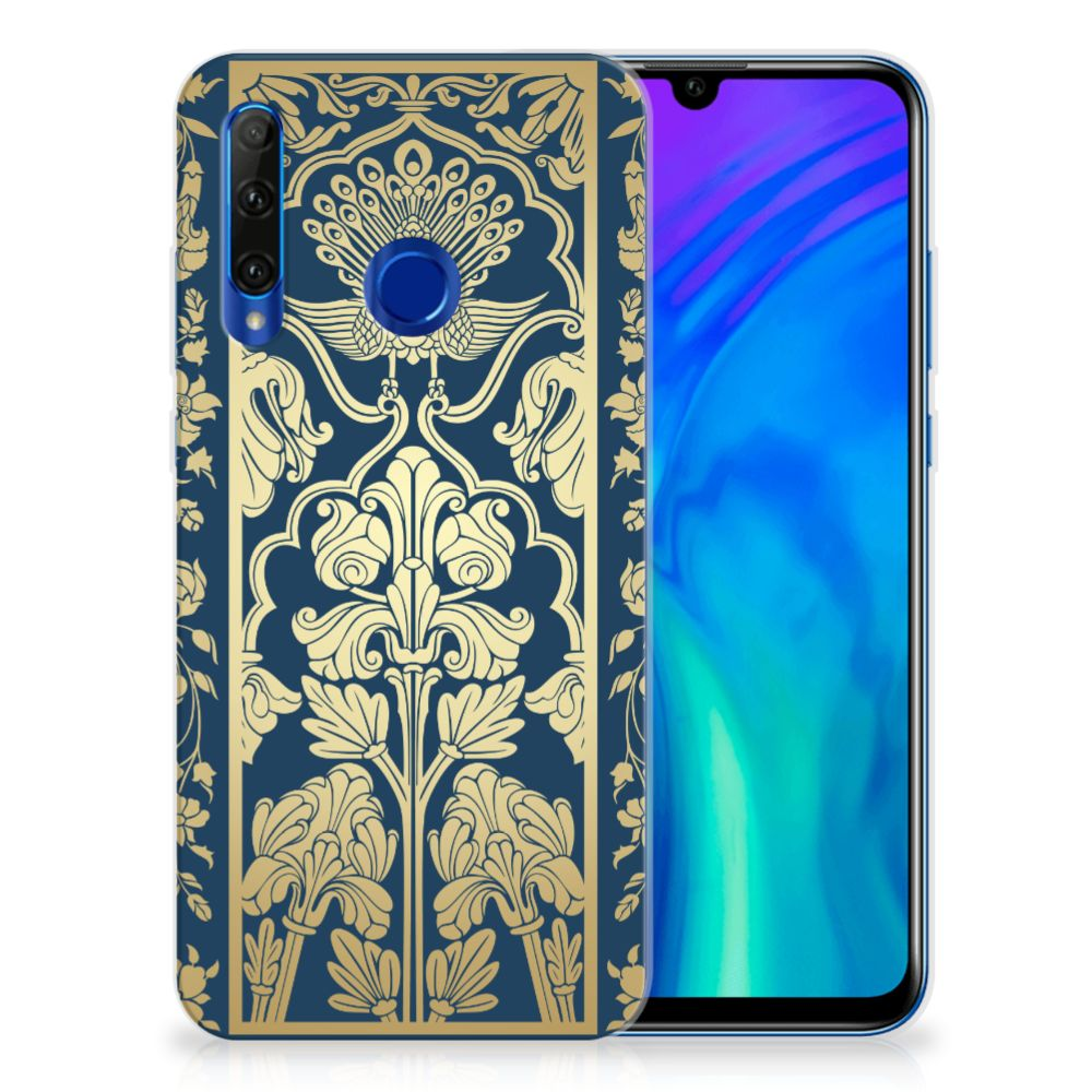 Honor 20 Lite TPU Case Golden Flowers