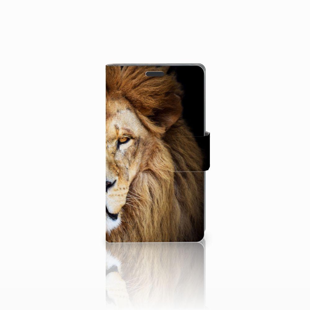 Nokia Lumia 625 Boekhoesje Design Leeuw