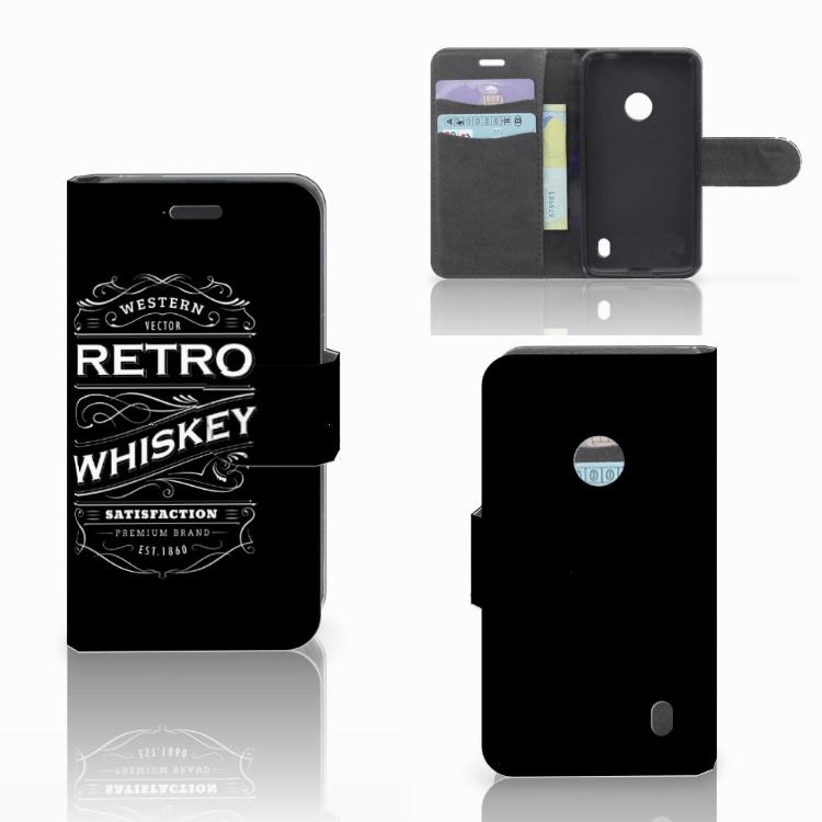Nokia Lumia 520 Book Cover Whiskey