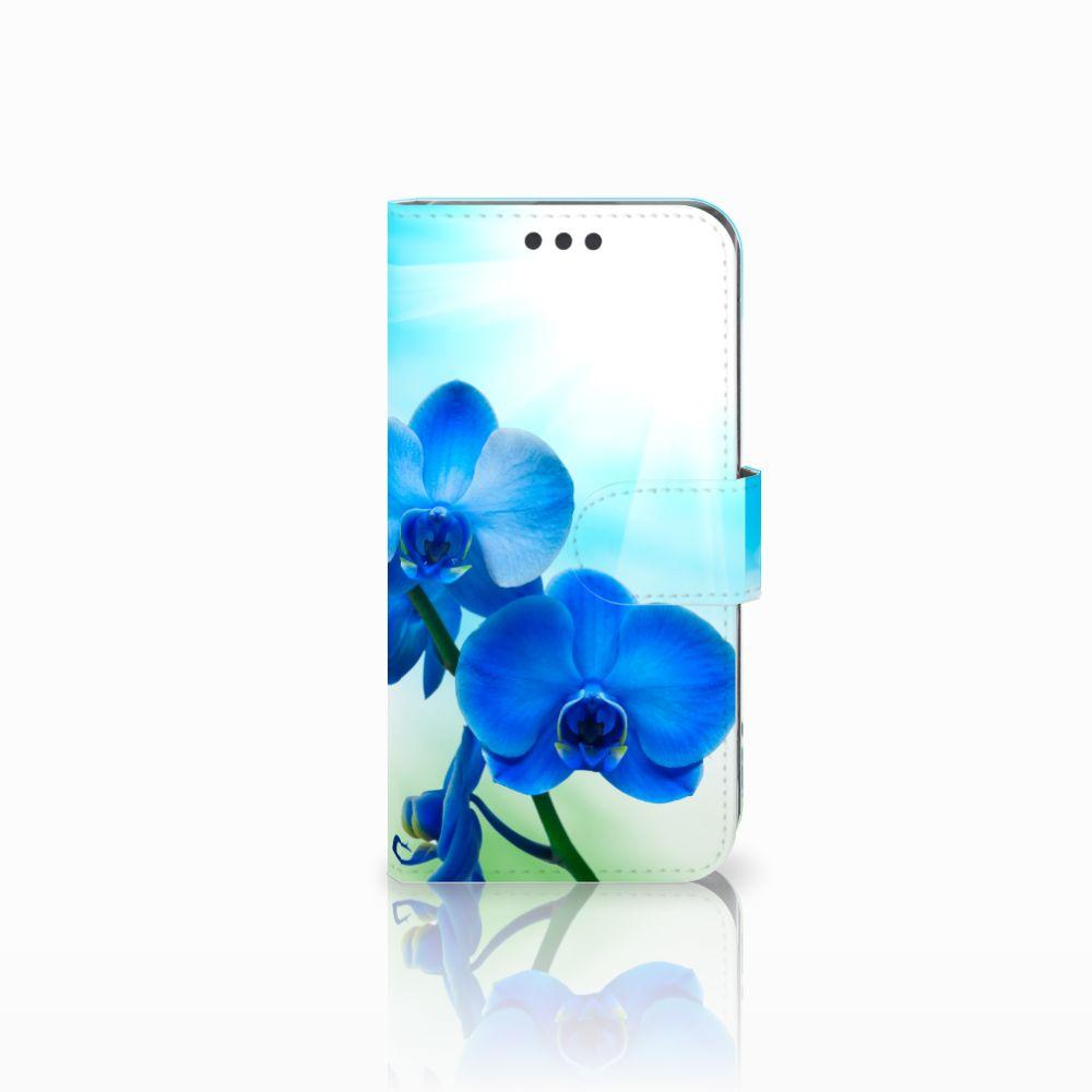 Sony Xperia XA | XA Dual Boekhoesje Design Orchidee Blauw