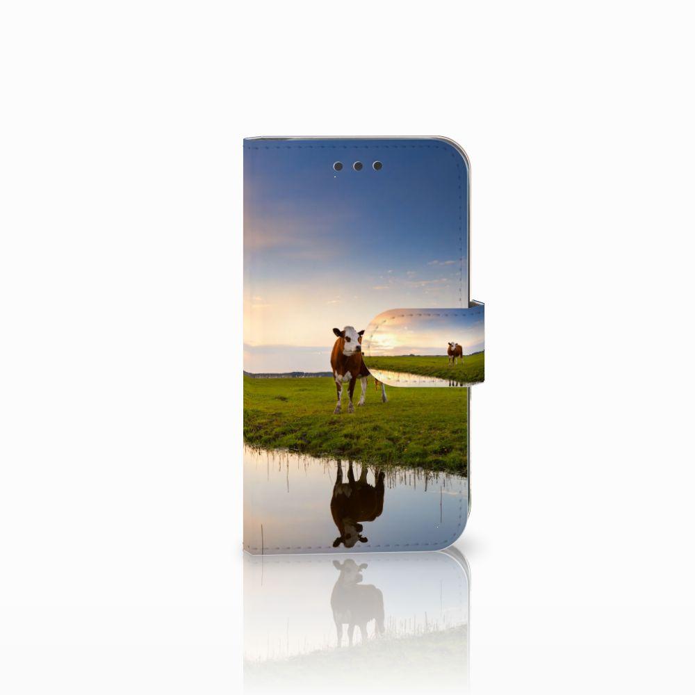 Samsung Galaxy S3 i9300 Boekhoesje Design Koe