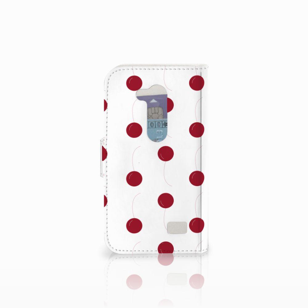 LG L Fino Book Cover Cherries
