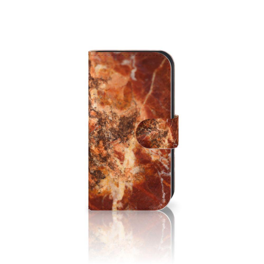 Samsung Galaxy Ace 4 4G (G357-FZ) Boekhoesje Design Marmer Bruin