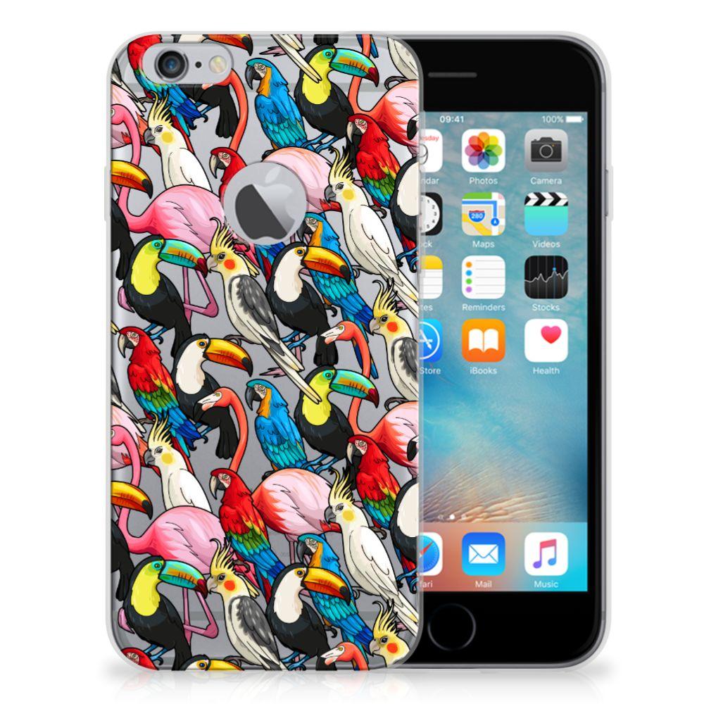 Apple iPhone 6 Plus | 6s Plus TPU Hoesje Birds