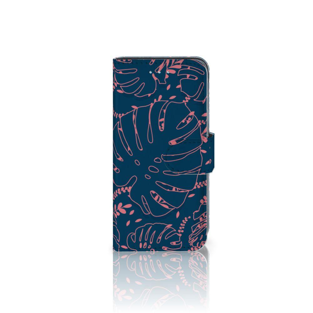 Samsung Galaxy A5 2016 Boekhoesje Design Palm Leaves