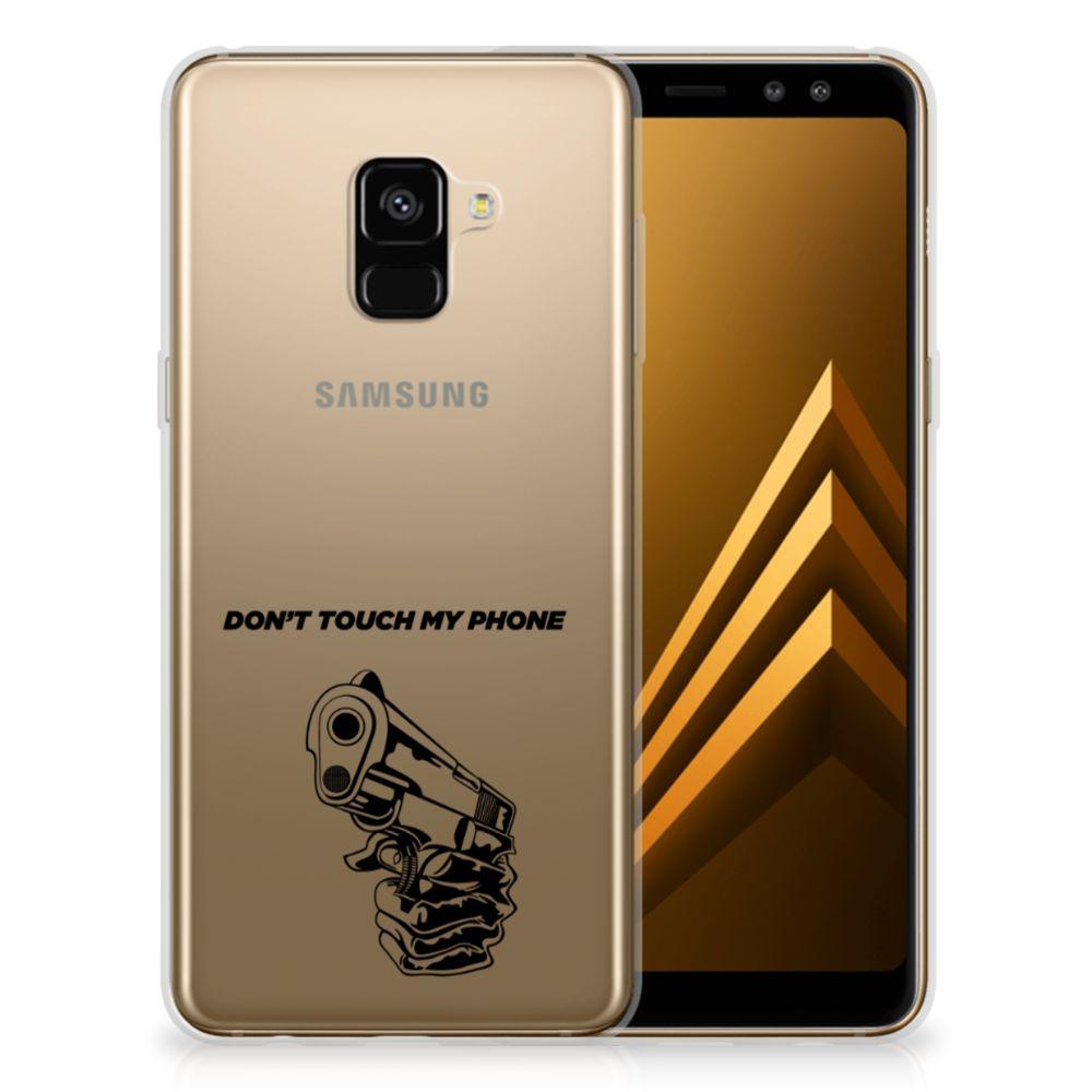 Samsung Galaxy A8 Plus (2018) Silicone-hoesje Gun DTMP