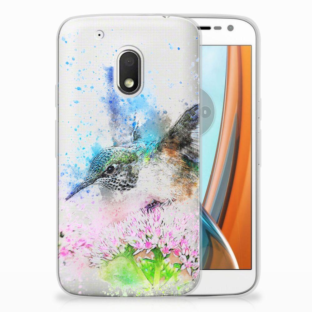 Motorola Moto G4 Play TPU Hoesje Design Vogel