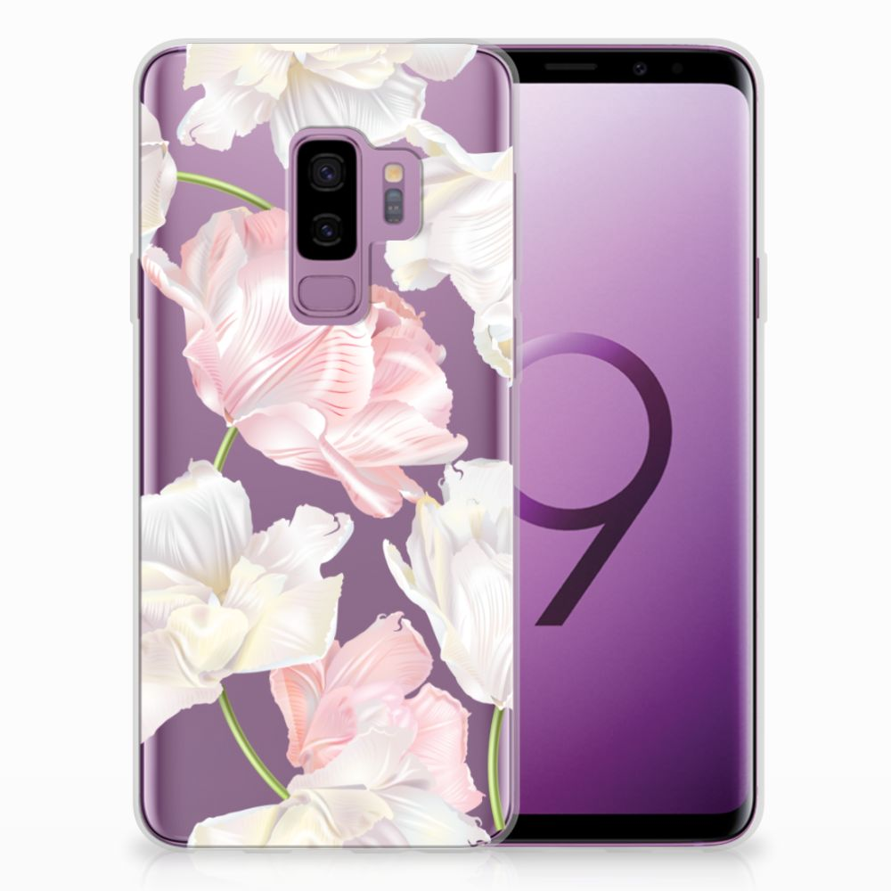 Samsung Galaxy S9 Plus TPU Hoesje Design Lovely Flowers