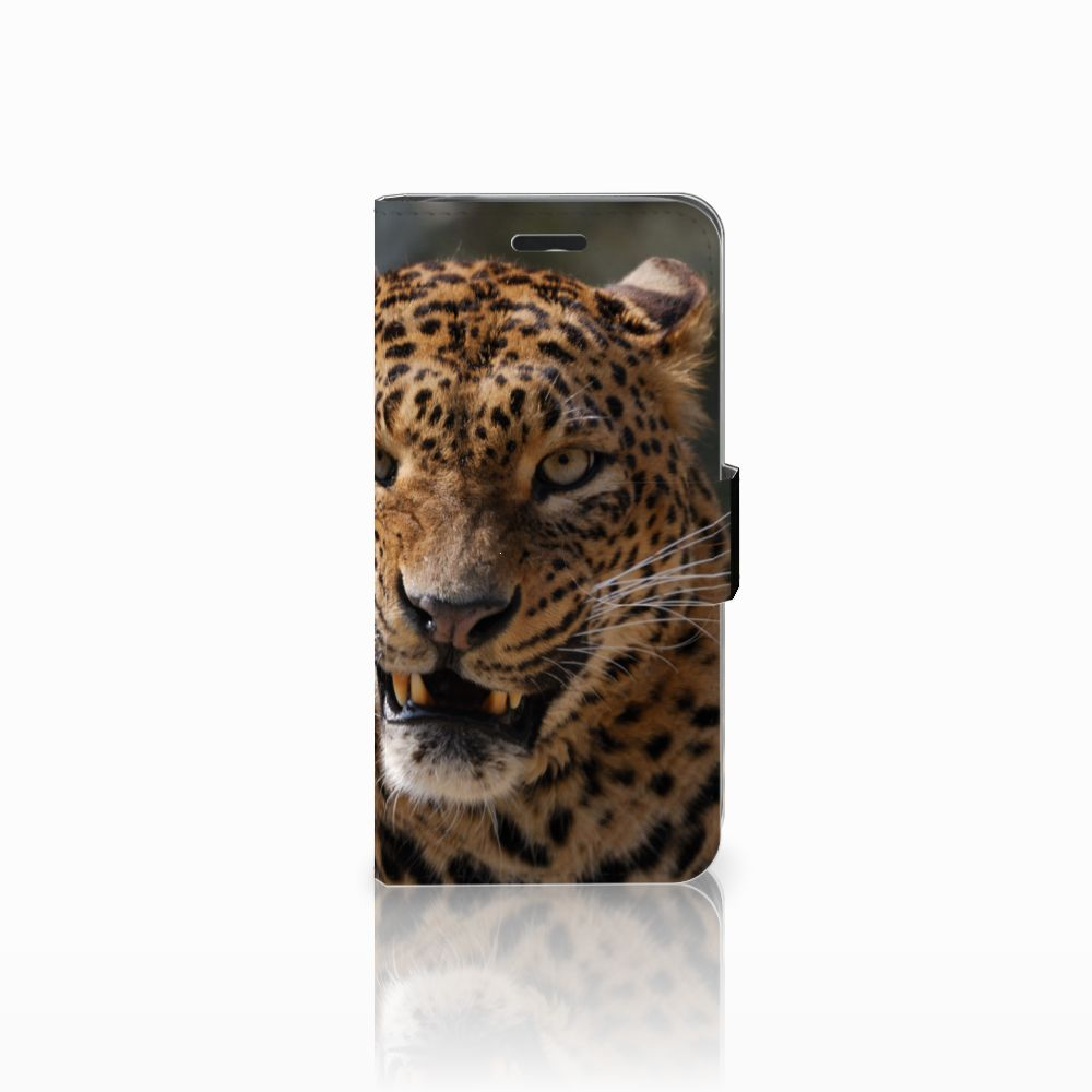 Acer Liquid Z530 | Z530s Telefoonhoesje met Pasjes Luipaard