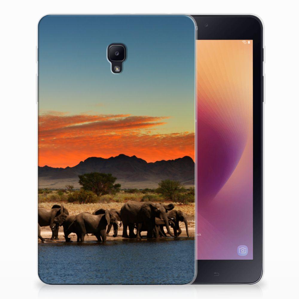Samsung Galaxy Tab A 8.0 (2017) Tablethoesje Design Olifanten