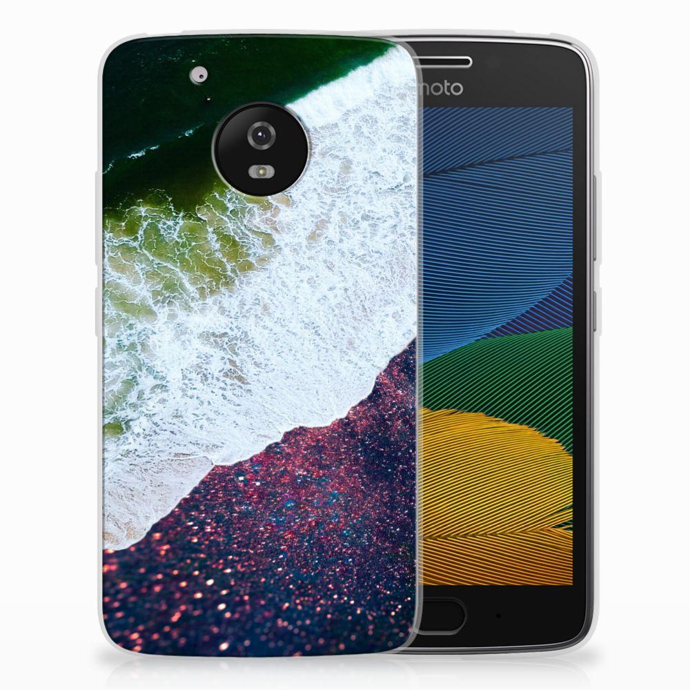 Motorola Moto G5 TPU Hoesje Sea in Space