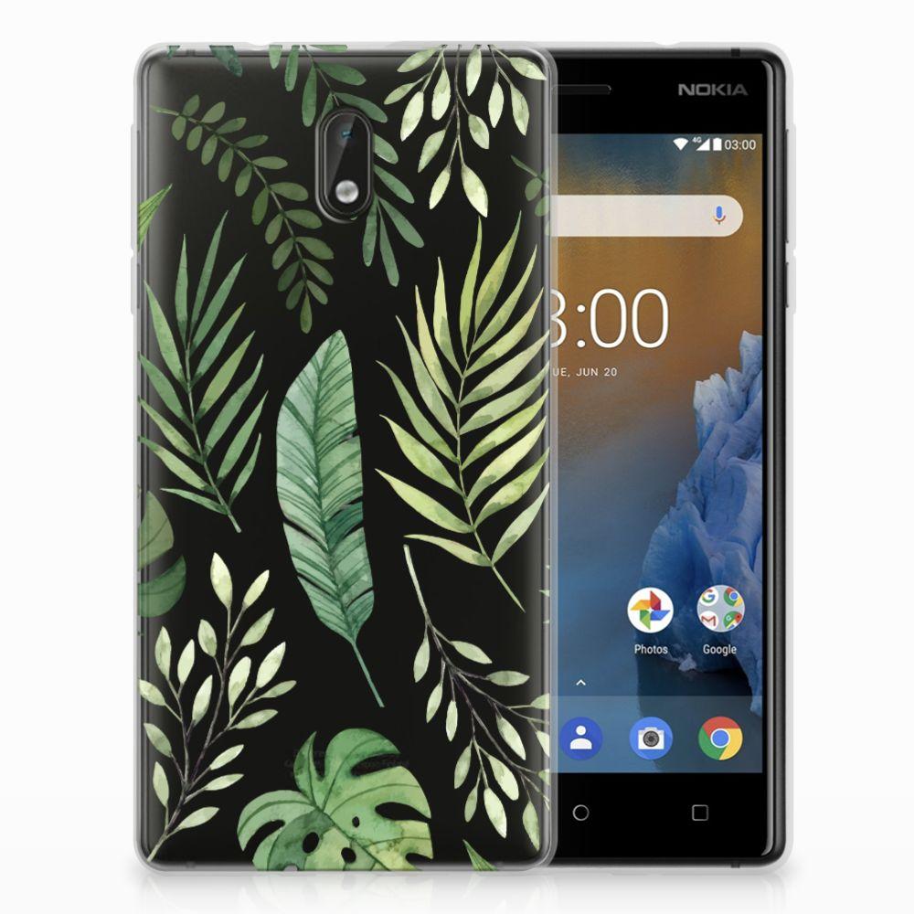 Nokia 3 TPU Case Leaves