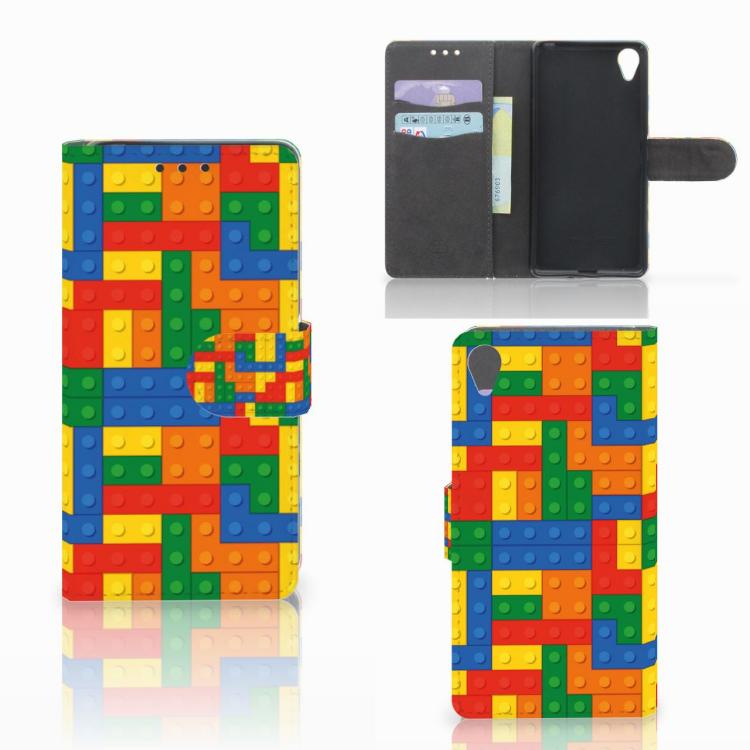 Sony Xperia X Telefoon Hoesje Blokken