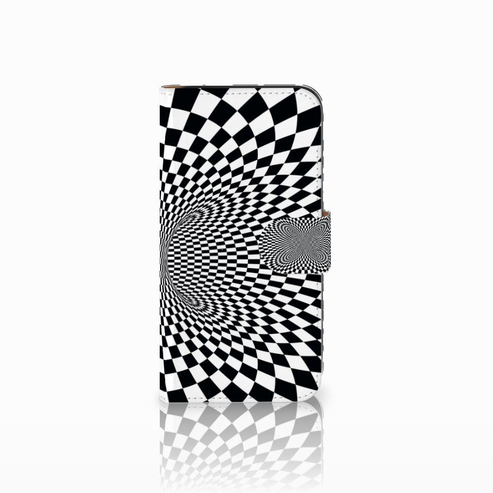 Samsung Galaxy E5 Bookcase Illusie
