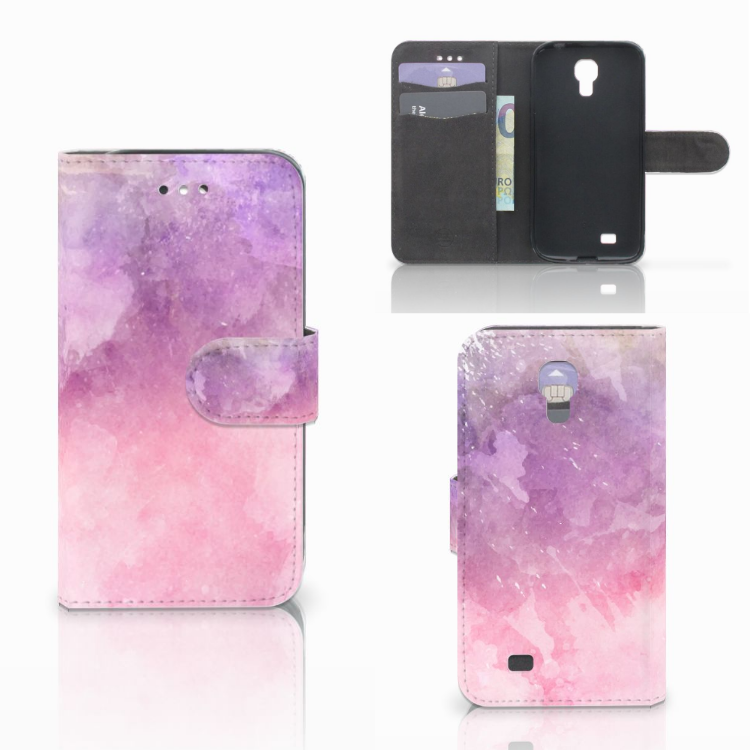 Hoesje Samsung Galaxy S4 Pink Purple Paint