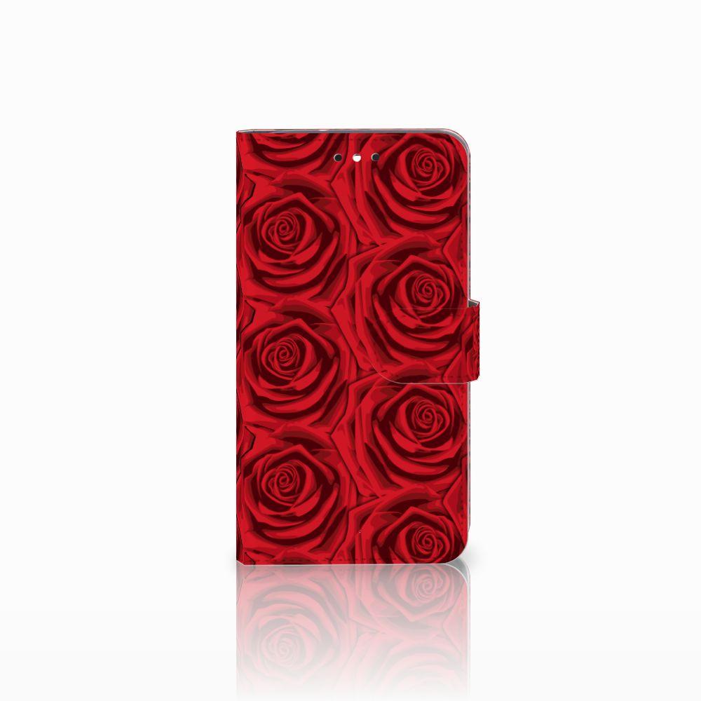 Motorola Moto G4 | G4 Plus Uniek Boekhoesje Red Roses