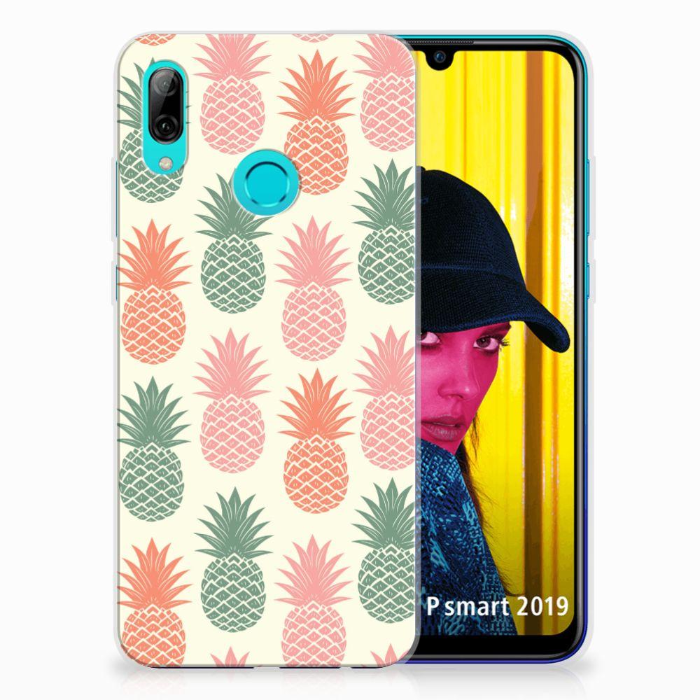 Huawei P Smart 2019 Siliconen Case Ananas
