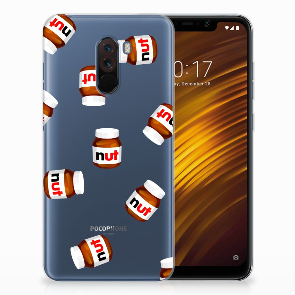 Xiaomi Pocophone F1 Siliconen Case Nut Jar