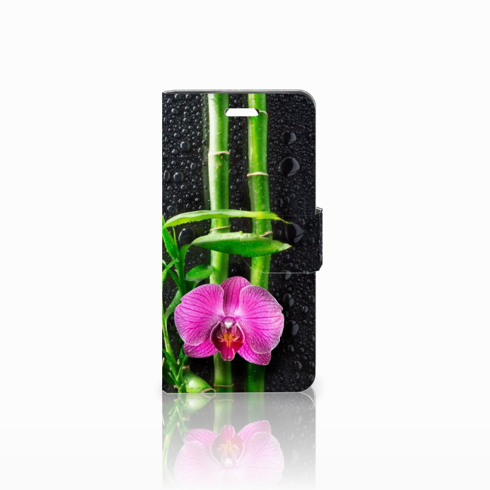 Acer Liquid Z330 Boekhoesje Design Orchidee