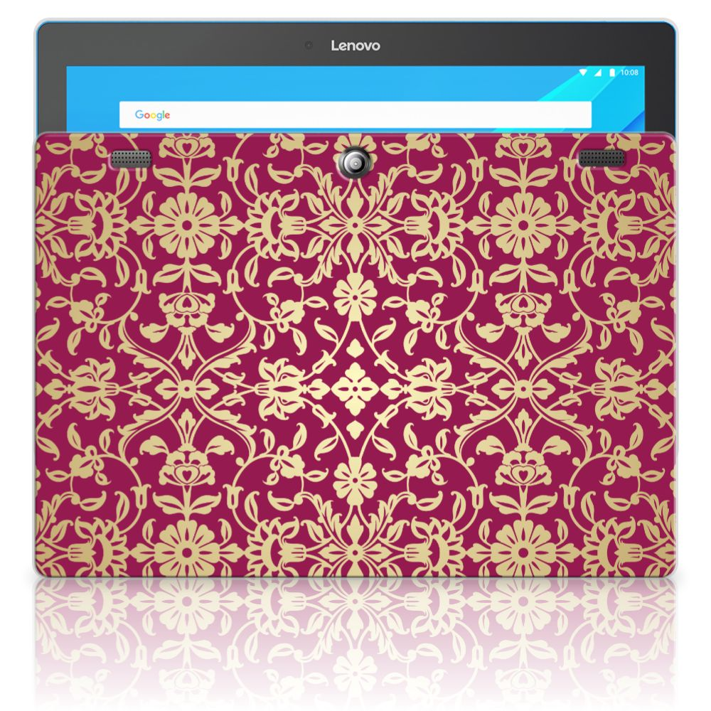 Lenovo Tab 10   Tab 2 A10-30 Tablethoesje Design Barok Pink