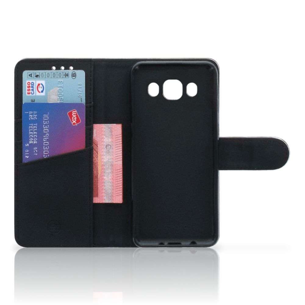 Telefoonhoesje met Pasjes Samsung Galaxy J5 2016 Britse Korthaar