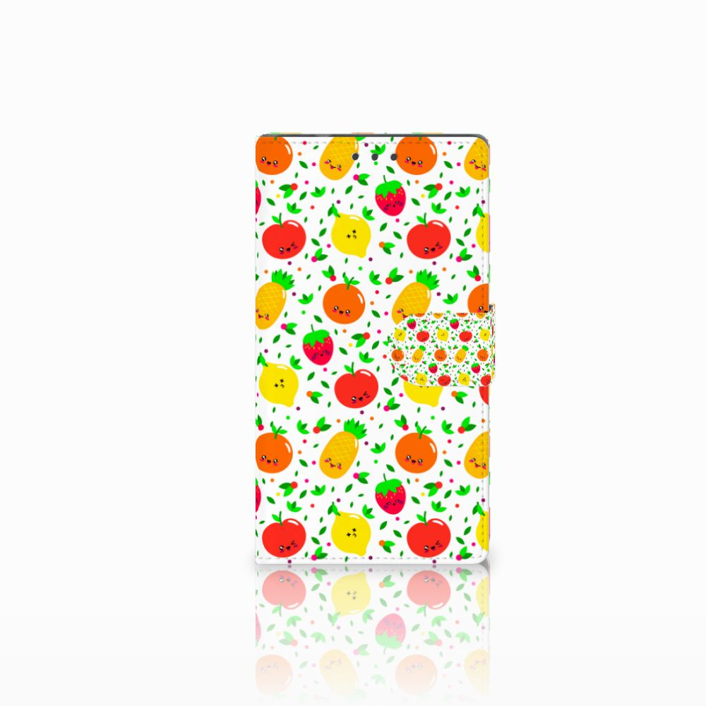 Samsung Galaxy Note 4 Boekhoesje Design Fruits