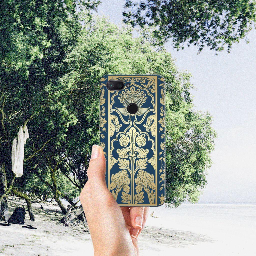 Xiaomi Mi 8 Lite TPU Case Golden Flowers