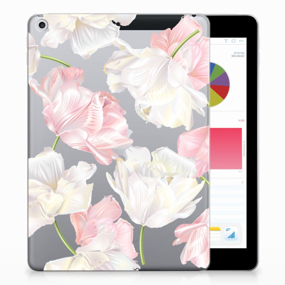Apple iPad 9.7 2018 | 2017 Tablethoesje Design Lovely Flowers